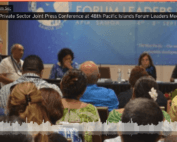 Civil Society & Private Sector Joint Press Conference at 48th Pacific Islands Forum Leaders Meeting