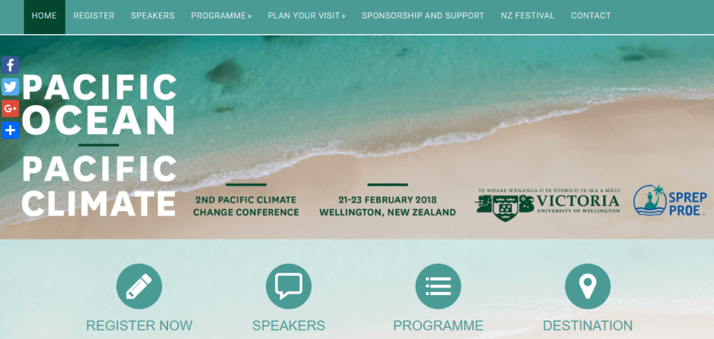 Pacific Ocean - Pacific Climate Conference