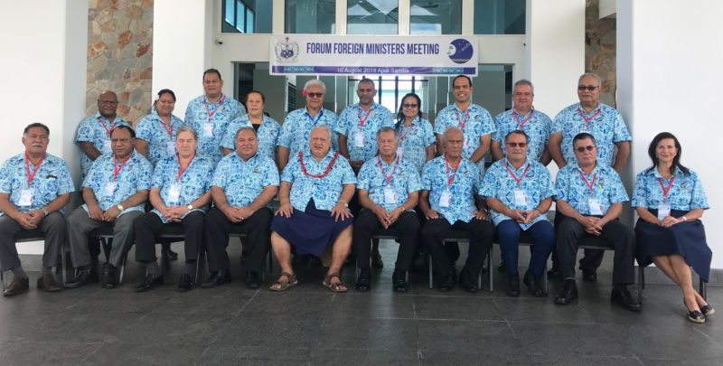 49th Pacific Islands Forum 2018