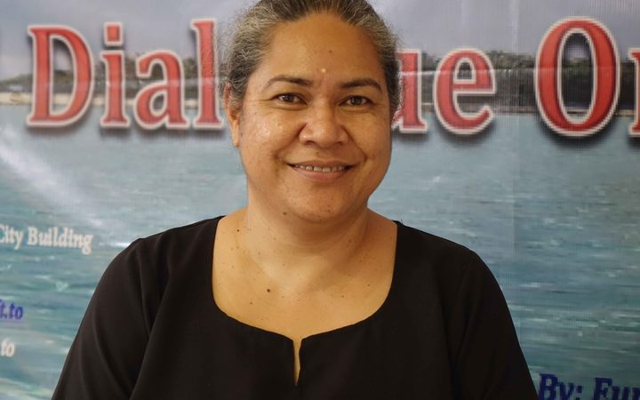 Executive Director of the Civil Society Forum of Tonga, 'Emeline Siale 'Ilolahia. Photo: RNZ/Koro Vaka'uta