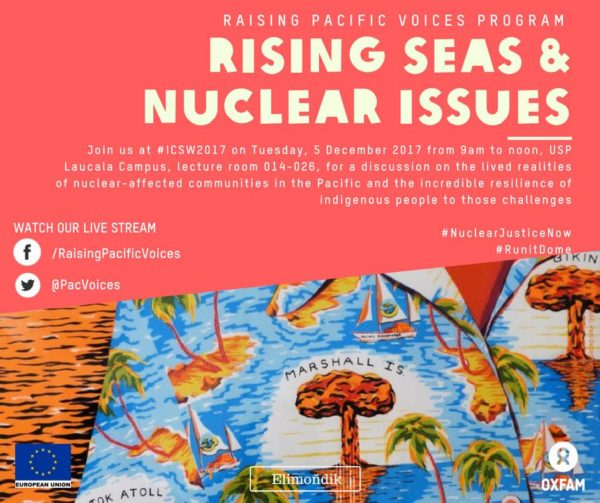 Rising Seas and Nuclear Issues in Oceania banner