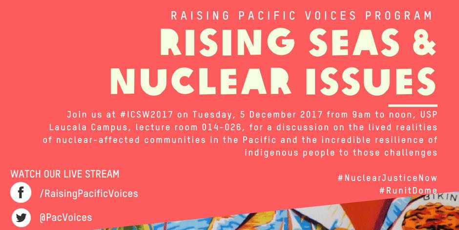 Rising Seas and Nuclear Issues in Oceania