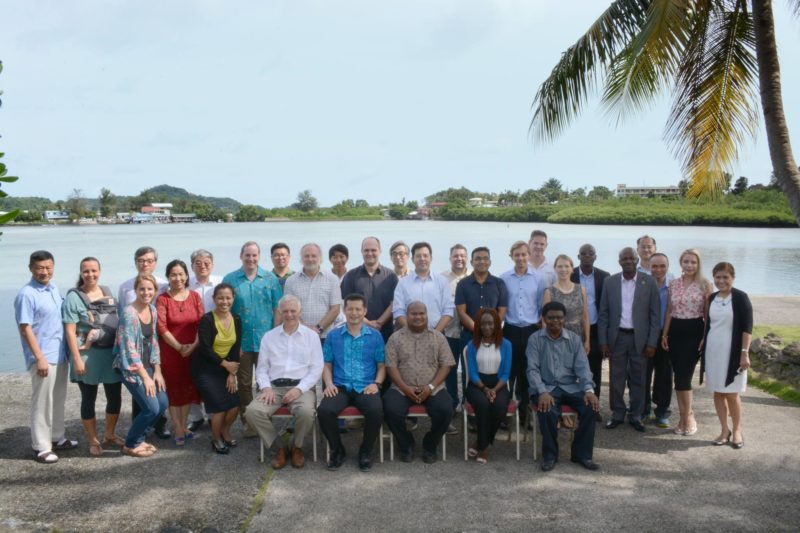 UN World Ocean Assessment Workshop held at PICRC 2018