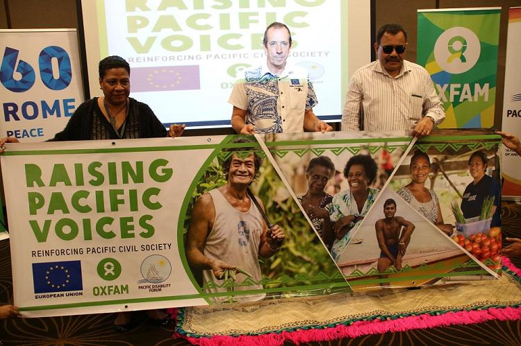 Oxfam and Pacific Disability Forum launch EU-funded program aimed at strengthening Pacific civil society