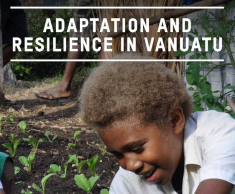 Keywords Adaptation Climate change Evaluations, Gender Resilience Stockholm Environment Institute Vanuatu