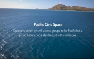 Civic space in the Pacific