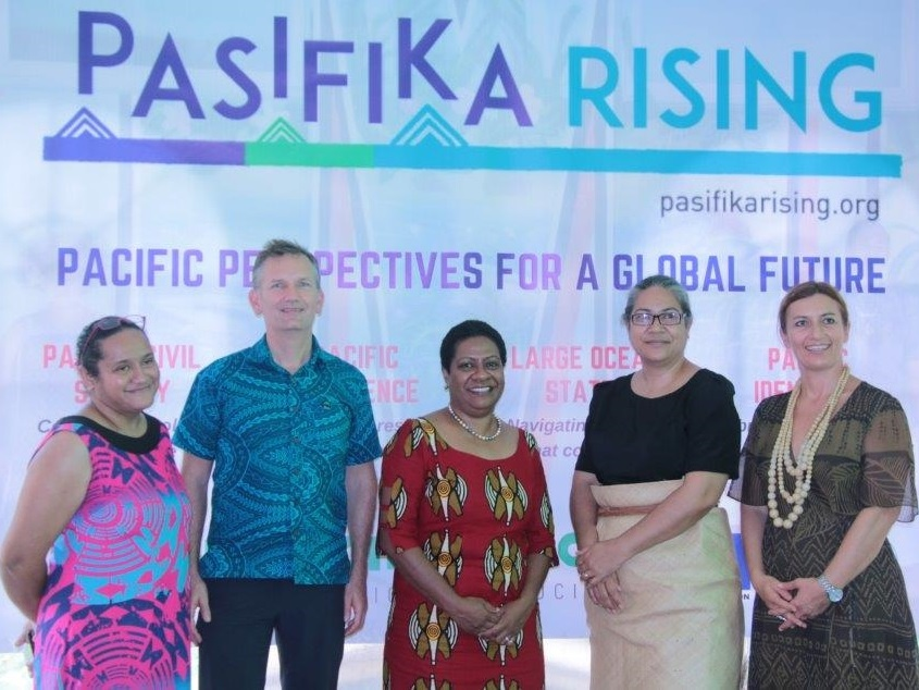 Pasifika Rising website launch