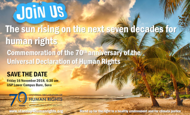 The sun rising on the next seven decades forhuman rights