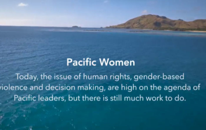 Today, the issue of human rights, gender-based violence and decision making, are high on the agenda of Pacific leaders, but there is still much work to do
