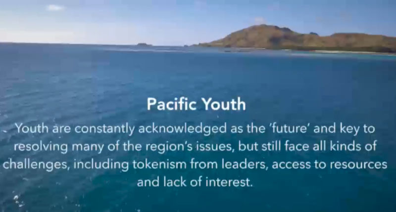 Youth are constantly acknowledged as the 'future' and key to resolving many of the region's issues, but still face all kinds of challenges, including tokenism from leaders, access to resources and lack of interest.