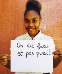 Figure 12: 'We say fwai, not pwai'