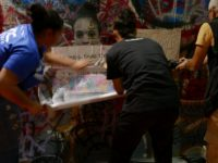 Figure 37: Students taking part in the Street Art activity