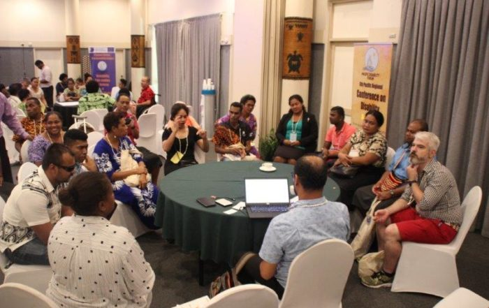 Participants at the 2019 Pacific Disability Conference held in Nadi, Fiji. Photo: PIANGO