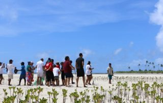 Pacific youth want world to hear and act on climate change. Photo: Hannah Butler/IFRC Pacific