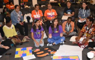 Participants at the Pacific Feminist Forum
