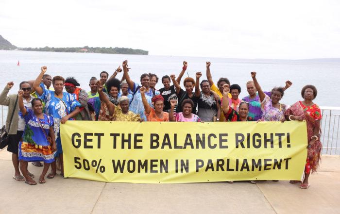 VSCIN women deliver statement to UN.
